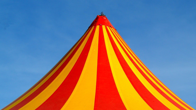 the circus big top